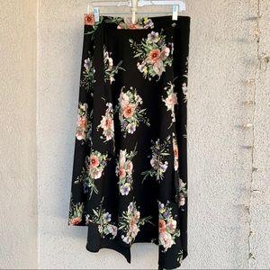Floral napkin skirt
